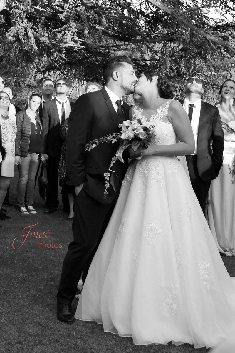portrait de mariés photo de mariage Imaé Photos à La Cadière d'Azur