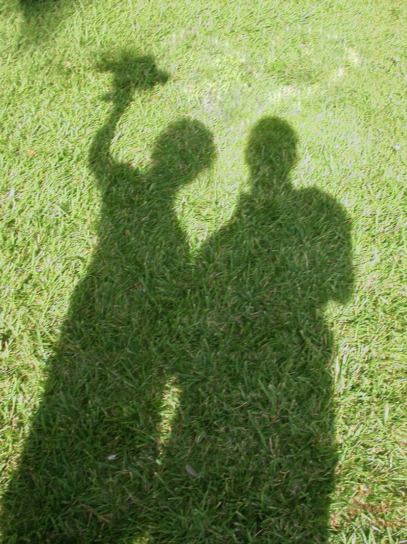 photographie de mariés ombres à Toulon PACA