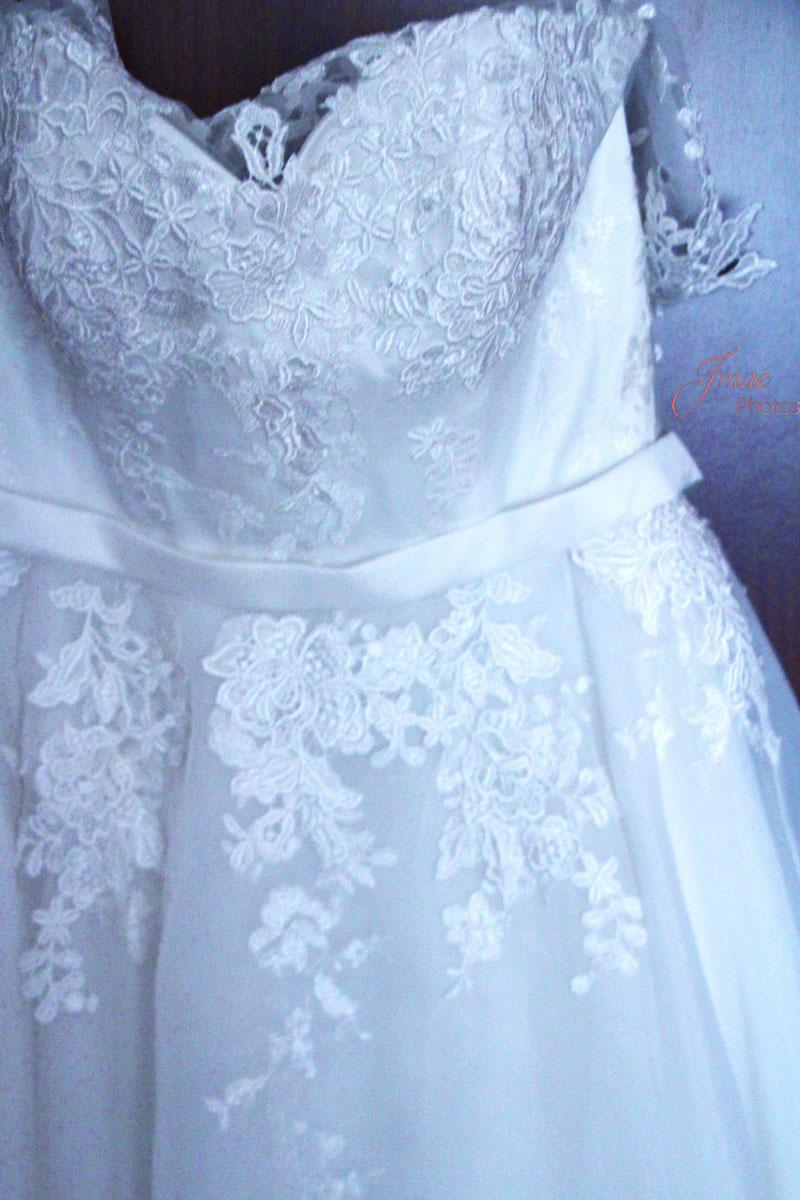 Reportage mariage, robe de mariée à Six Fours les Plages dans le Var 83